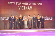 INTERCONTINENTAL HANOI WESTLAKE WINS AT 2015 MEKONG TOURISM ALLIANCE AWARDS